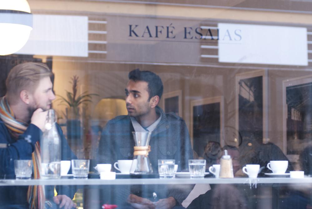 Kafe Esaias in Stockholm, Sweden