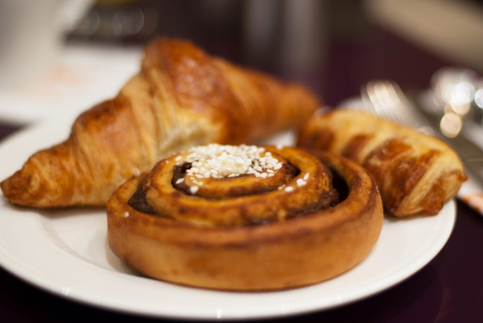 Breakfast at Sheraton Hotel, Stockholm