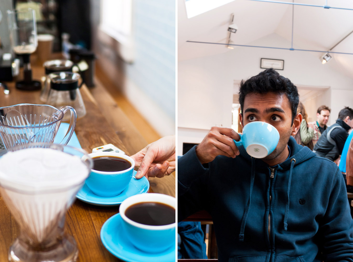Colonna and Smalls coffee shop in Bath, England
