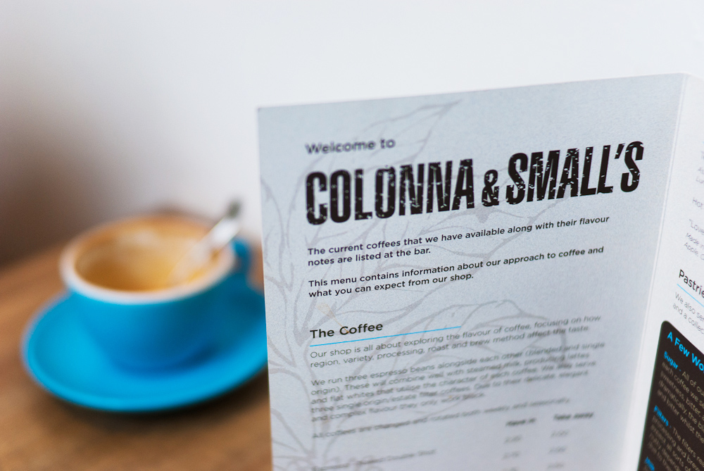 Colonna & Small's, Speciality Coffee shop in Bath (England)