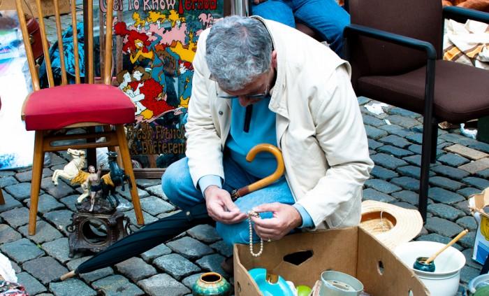 Flea market, Brussels