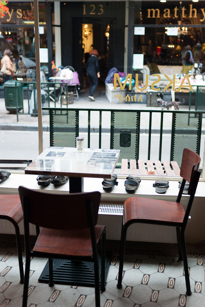 Aksum coffee shop, Brussels