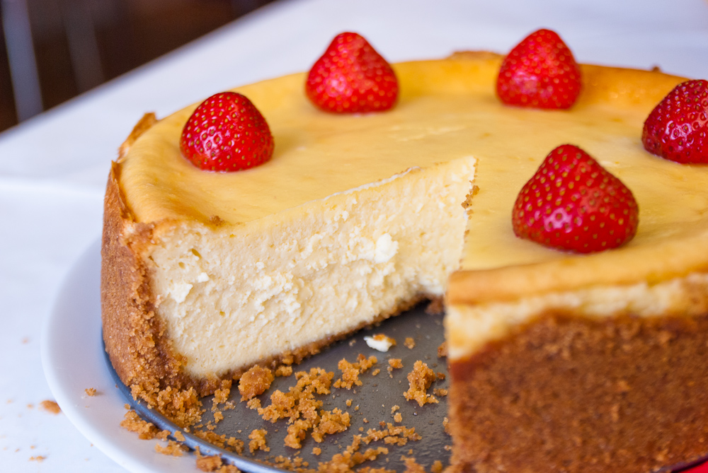 Baked New York Style Cheesecake