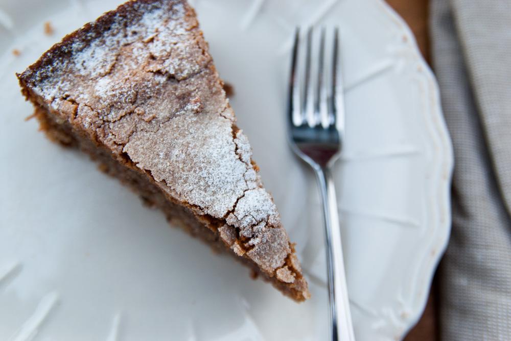 Almond, Pecan and Lemon Cake
