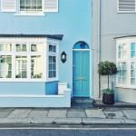 Colourful houses of Chelsea #prettycitylondon
