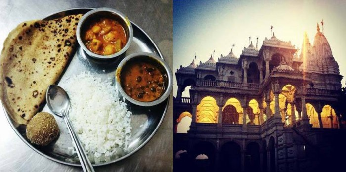 Road trip to Gujarat, to visit the Kuldevi temple in Rampura and the Swaminarayan temple in Saganpur.
