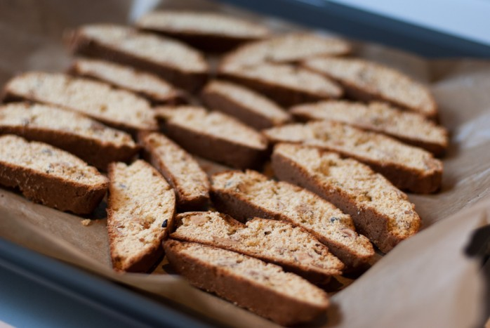 Tuscan Cantucci Biscotti with Hazelnuts