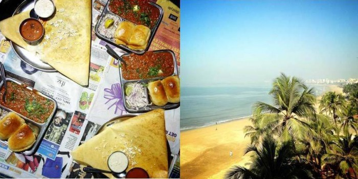 mumbai street food juhu beach