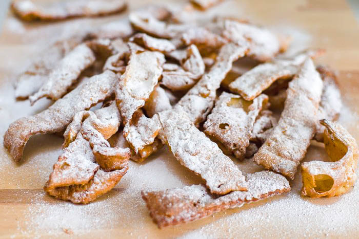 Frappe: Roman-style Sweet Carnival Fritters