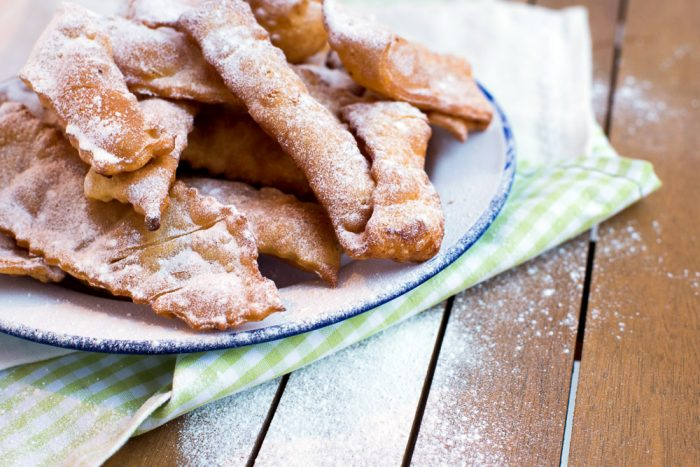 Frappe - Roman Style Sweet Carnival Fritters