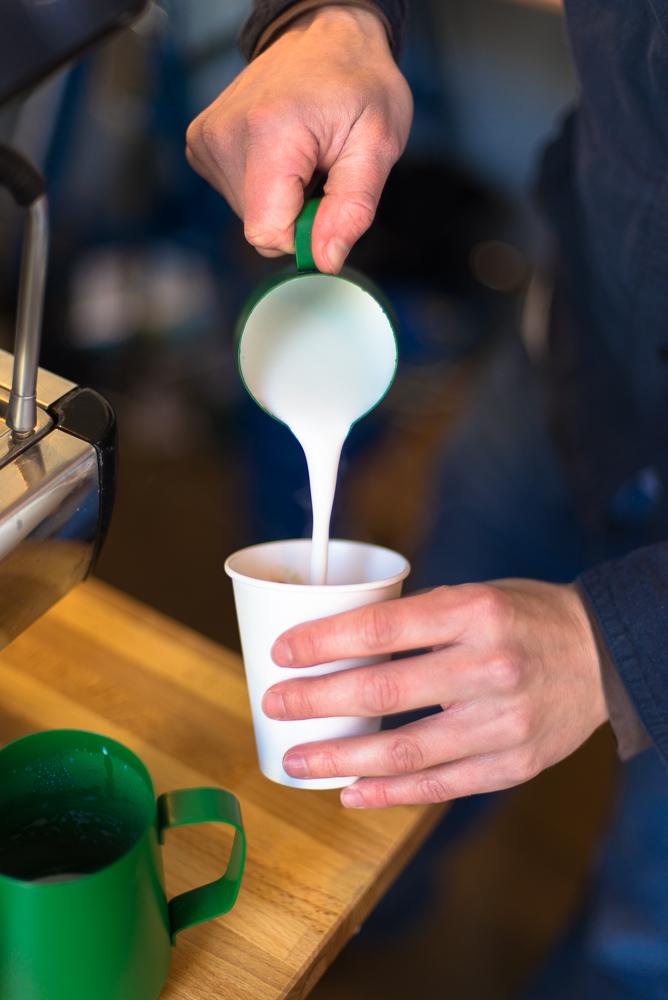 Terrone Coffee, at Netil Market in Hackney, London