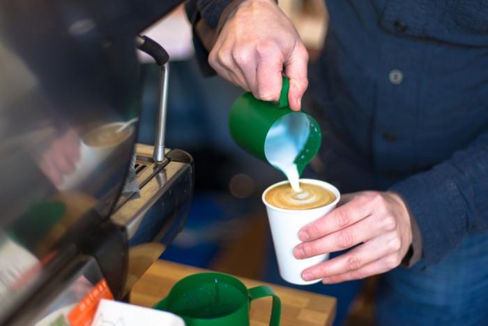 Terrone Coffee shop in London