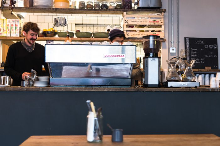Speciality Coffee at Embassy East in Hoxton, London