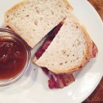 *THAT* Bacon Sarnie @St.John.Restaurant #StJohnBakeryRoom! Breakfast at #MaltbyStreetMarket with @igbrunchclub…