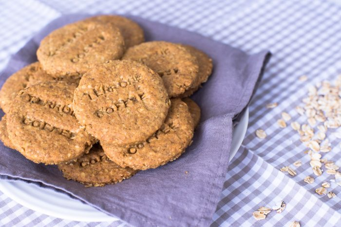 Oat and Spelt Digestive Biscuits