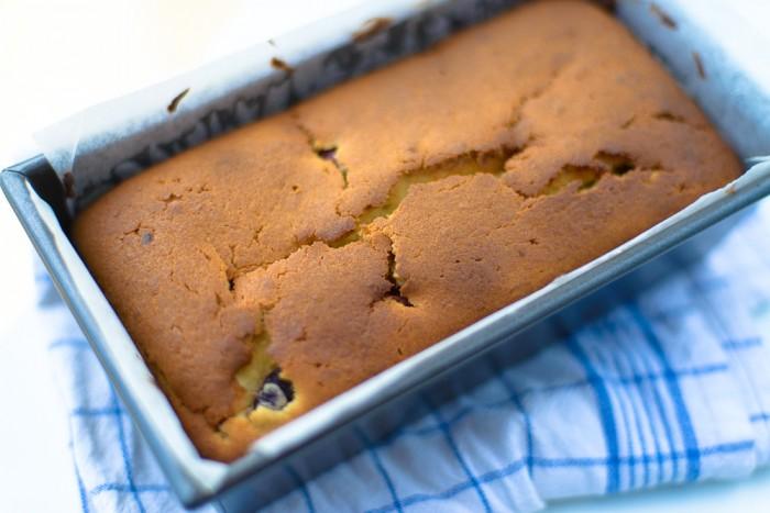 Lemon Yogurt Cherry Cake Recipe-3