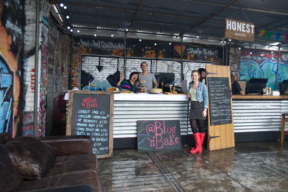 Blog 'n' Bake at Street Feast food market in Dalston Yard, East London