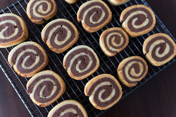 Double Chocolate Pinwheel cookies recipe