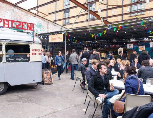 British street food awards at Street Feast food market in London