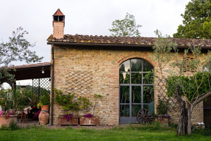 Colli Fiorentini is luxury farmhouse in the Tuscan hills outside Florence, rented by Tuscany Now