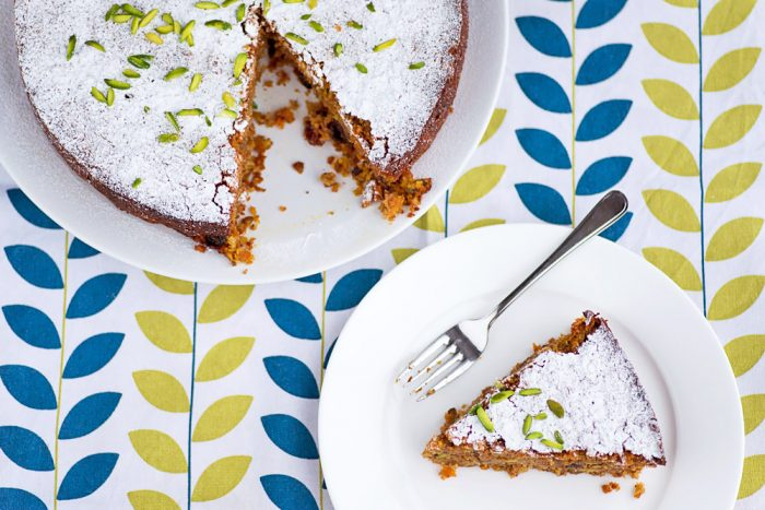 Sabrina Ghayour Carrot, Pistachio & Coconut Cake