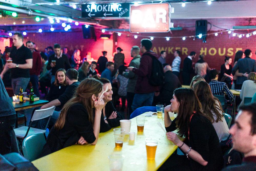 Street Feast food market Hawker House in London