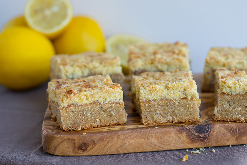 Cake Recipes Using Lemon Curd: Lemon Curd Crumble Cake Recipe