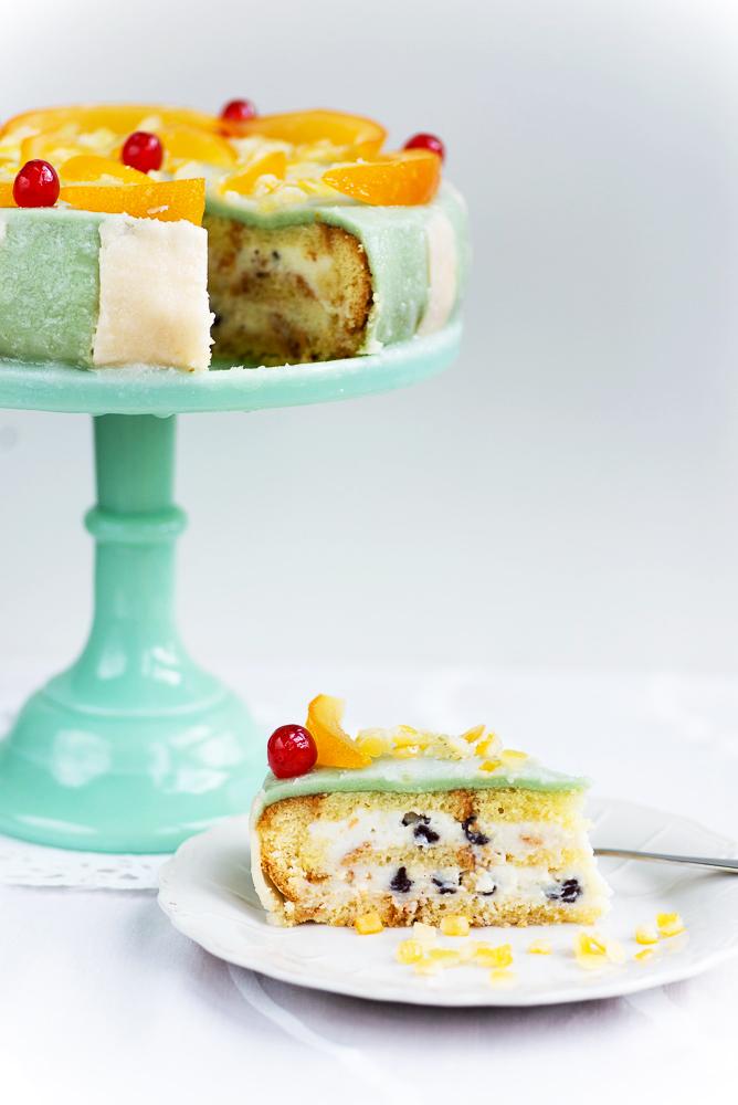 Cassata siciliana cake recipe