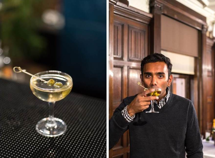Martini masterclass at Kettner's in London