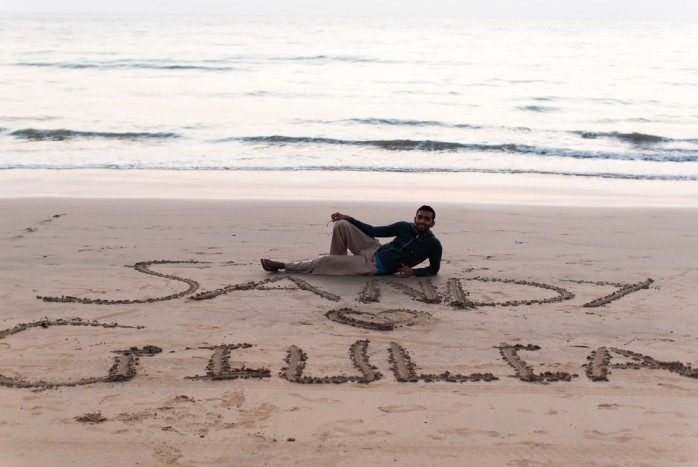 goa agonda beach honeymoon 1