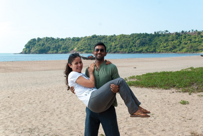 goa agonda beach honeymoon