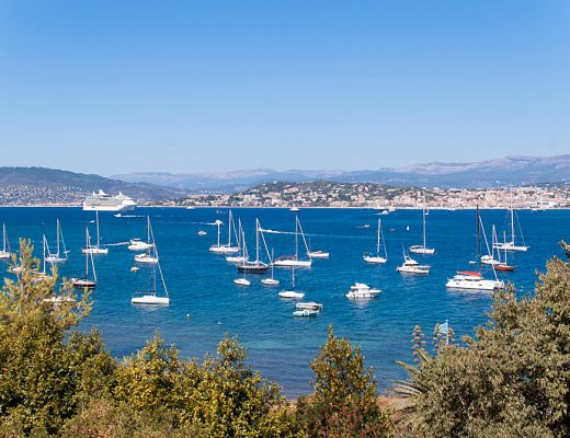 Isle St Marguerite in Cote D'Azur, France