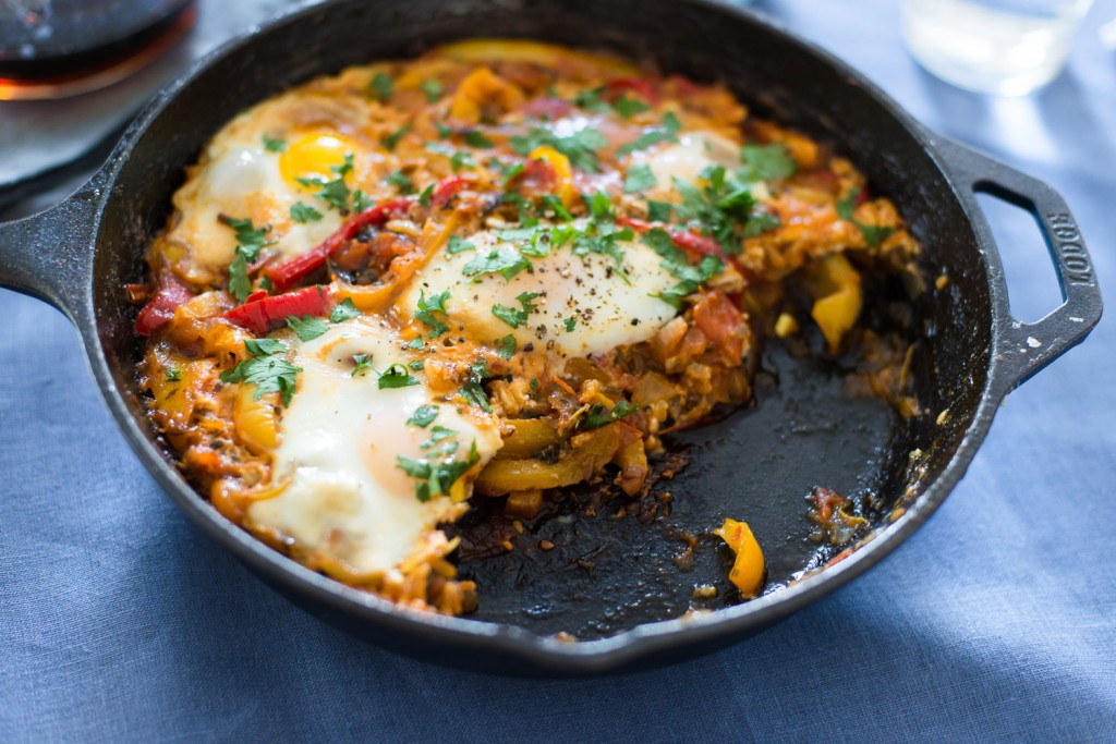 Shakshuka by Yotam Ottolenghi (Plenty Cookbook) - Mondomulia