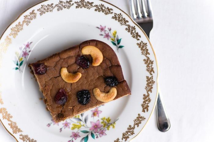 Castagnaccio, Tuscan Chestnut Cake (paleo)