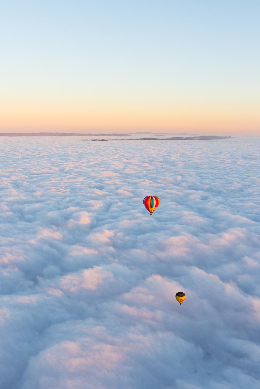 Hot balloon flight in Yarra Valley, Australia
