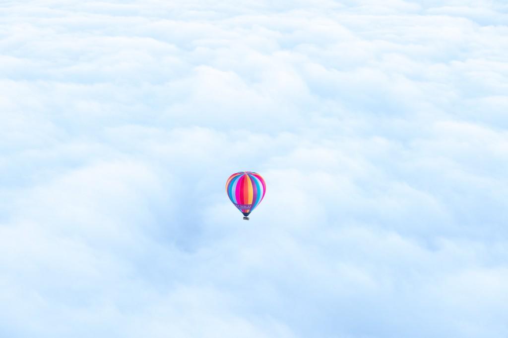 hot balloon flight in australia