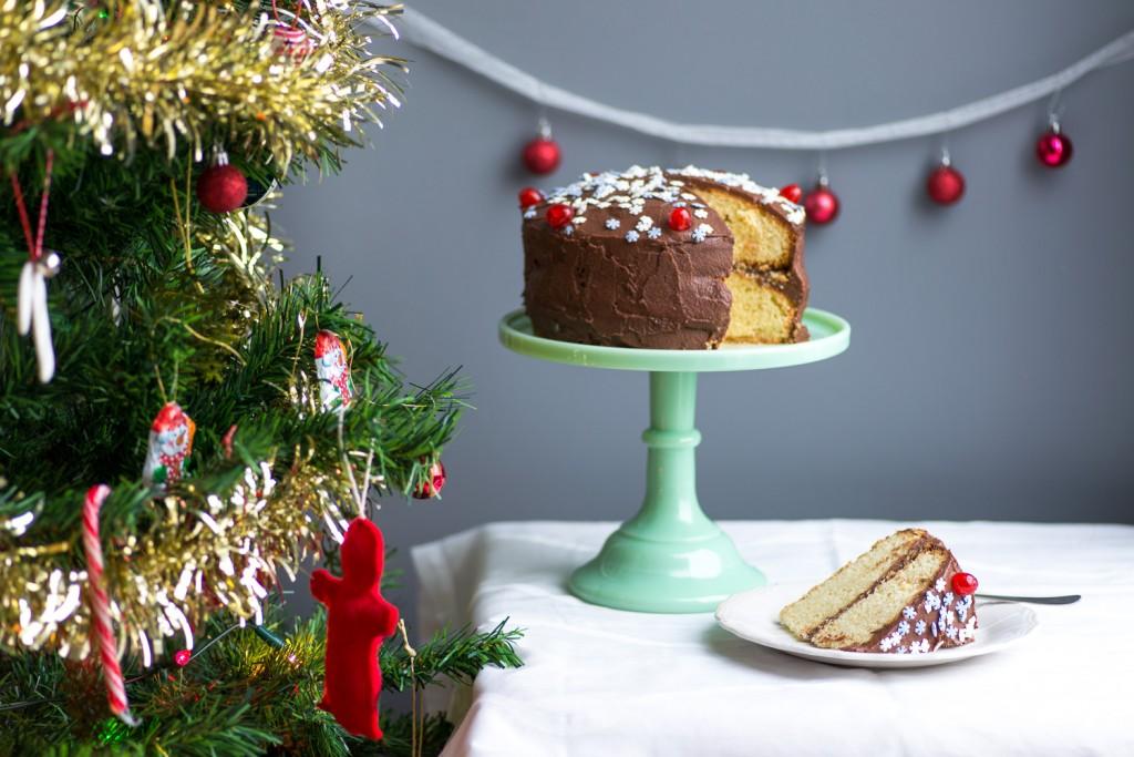 Vanilla-Cake-Chocolate-Icing-5
