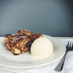 Pear Chocolate Brioche Bread Pudding - new recipe on my…