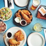 Fried Chicken and Waffle Brunch @Bird_Restaurant!