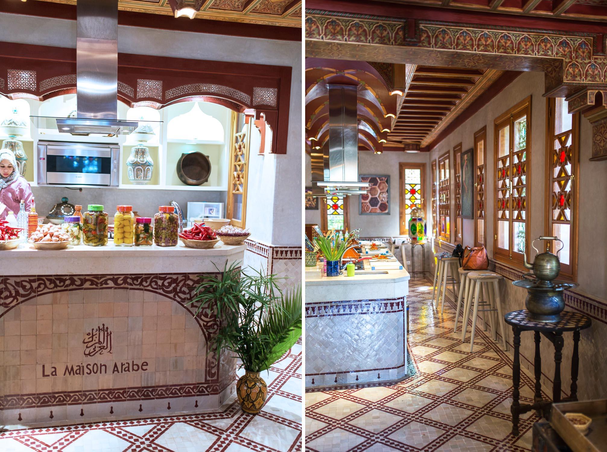 Moroccan cooking workshop at la maison arabe marrakech for A la maison en arabe