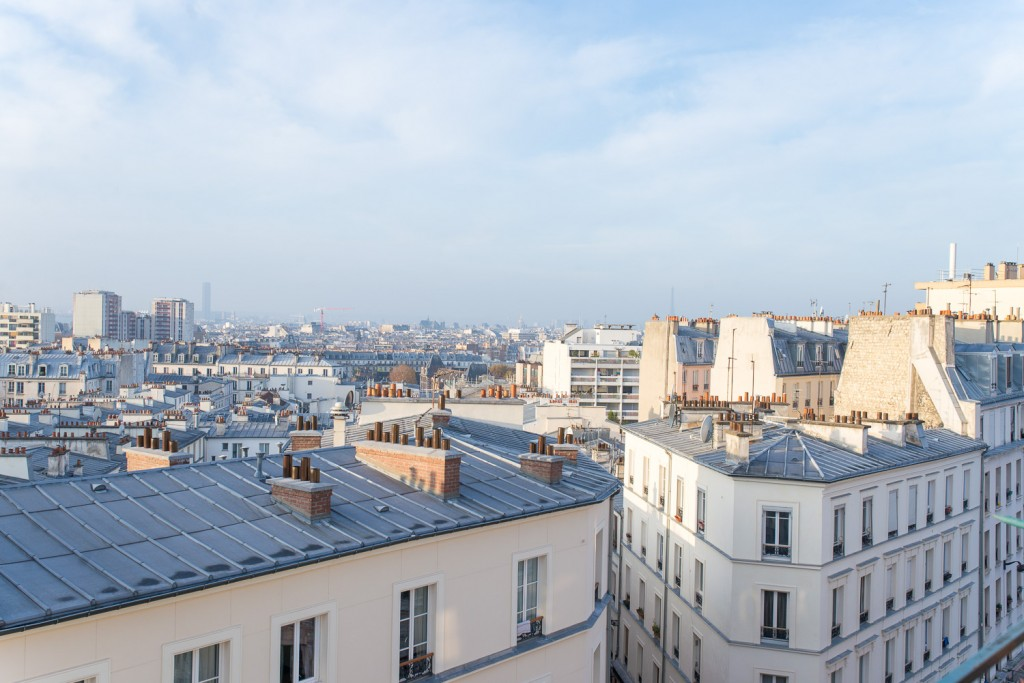 Rooftops of Paris