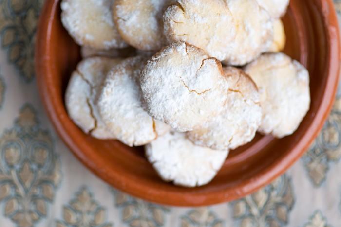 Ghoriba - Moroccan Semolina Cookies