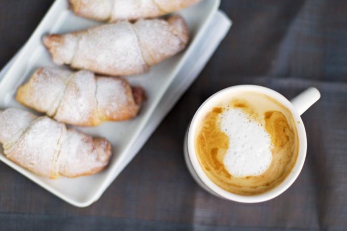 Nutella Brioche Croissants
