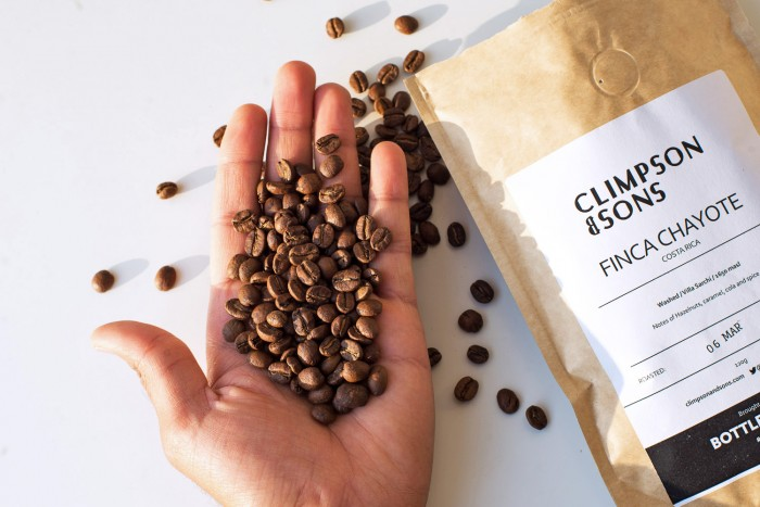 Climpson & Sons coffee beans