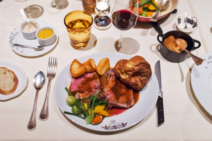 Sunday Roast at The Grill restaurant at The Dorchester Hotel in London   Mondomulia