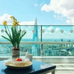 Breakfast with a view at the Sky Garden! #ThisIsLondon