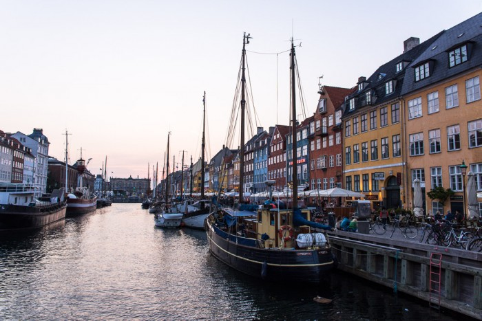 Nyhavn is a 17th-century waterfront, canal and entertainment district in Copenhagen, Denmark