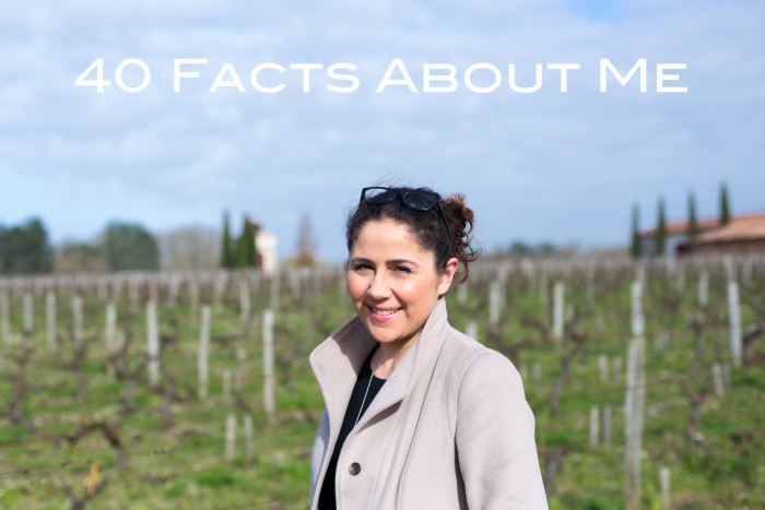 40 Facts About Me