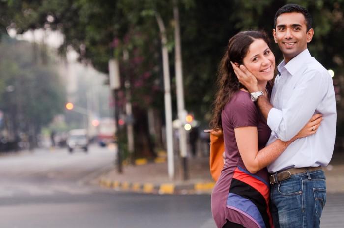 Couple in Mumbai, India
