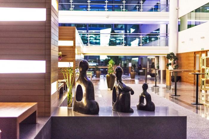 Zen Garden at Sofitel Hotel, Heathrow London